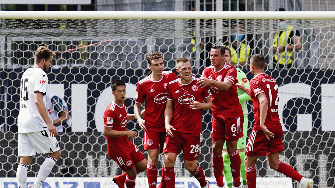 Der SV Sandhausen unterliegt Fortuna Düsseldorf.
