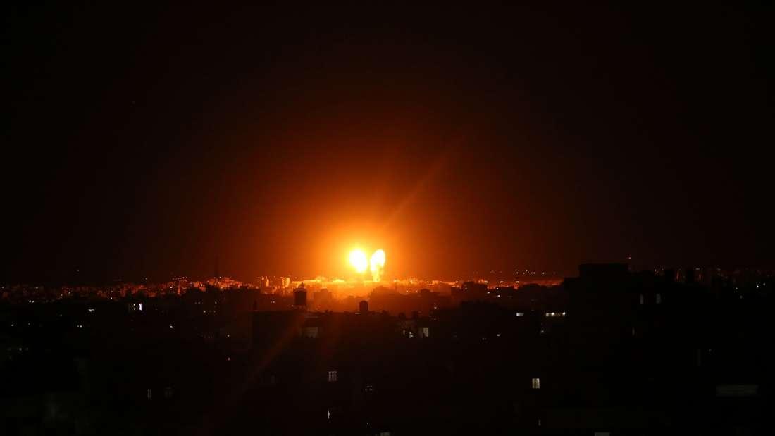 Israel attackiert die Hamas