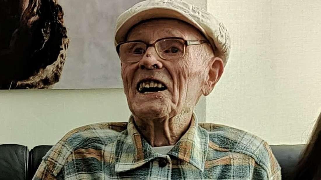 Hatte viel Spaß an seinem 105. Geburtstag: Jubilar Gerhard Liebchen.