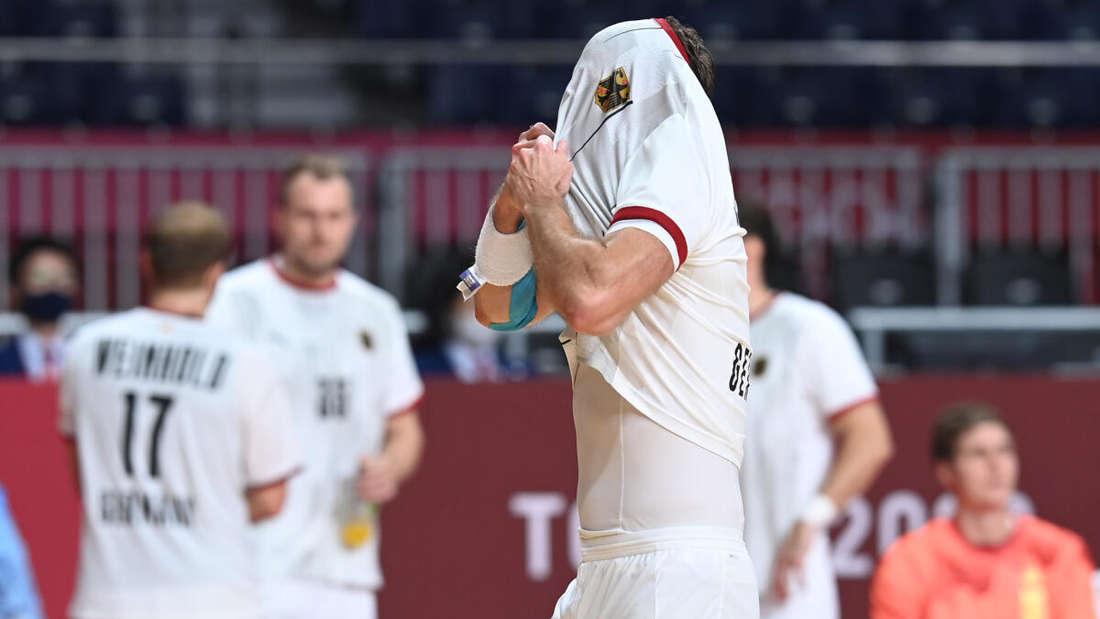 Frust: Deutschlands Handballer verlieren erneut gegen Frankreich.