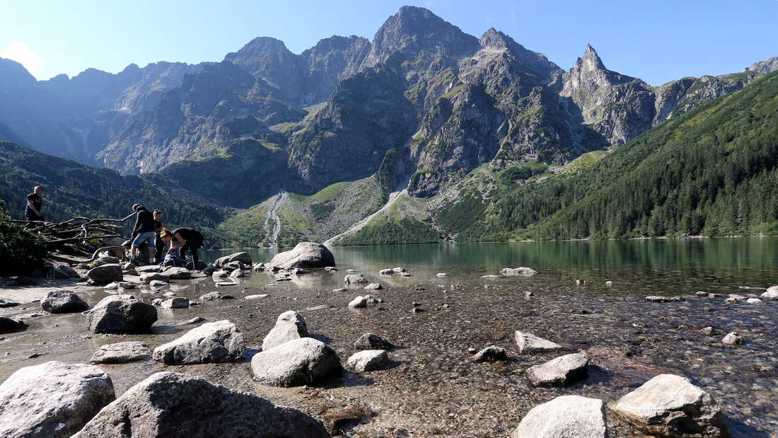 Drought in Tatra Mountains