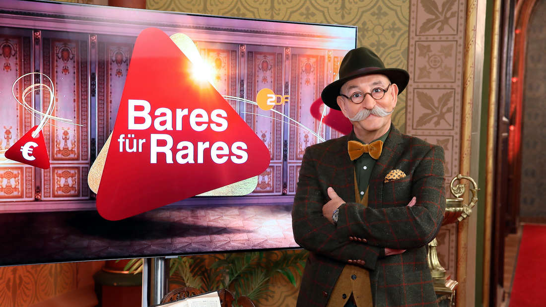"""Horst Lichter bei """"Bares für Rares""""."""
