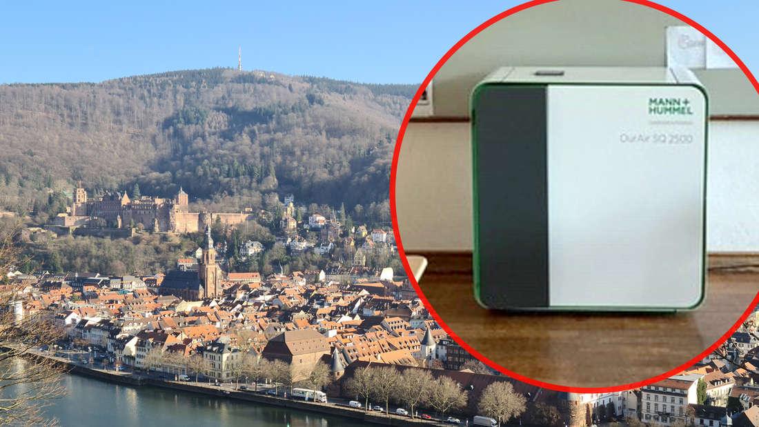 Heidelberg will weitere Schulen mit Luftfiltern ausstatten.