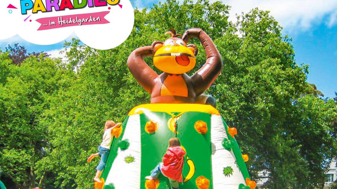 Ein Affen-Kletterturm vom Kinderparadies Heidelberg