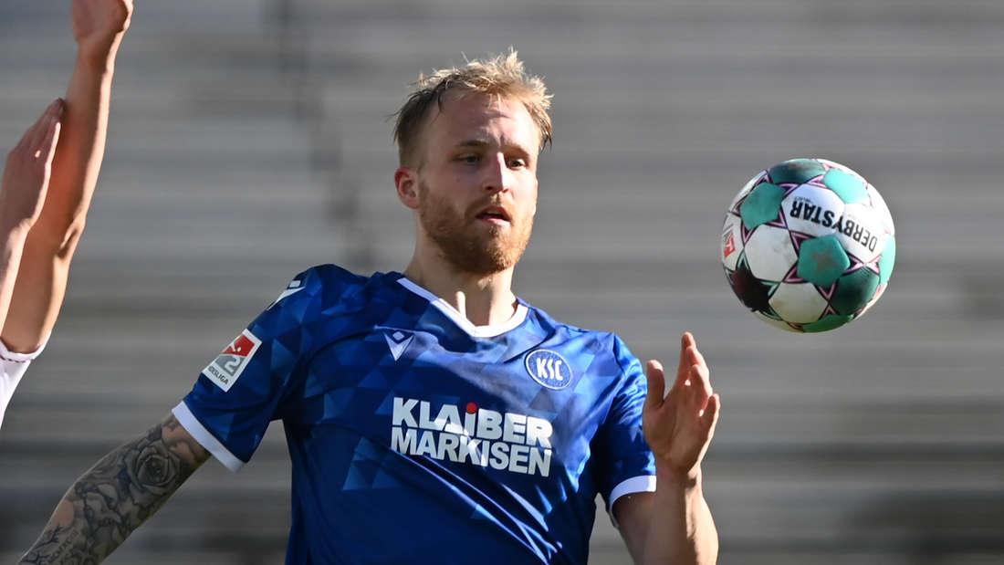 Philipp Hofmann stürmt aktuell für den Karlsruher SC.