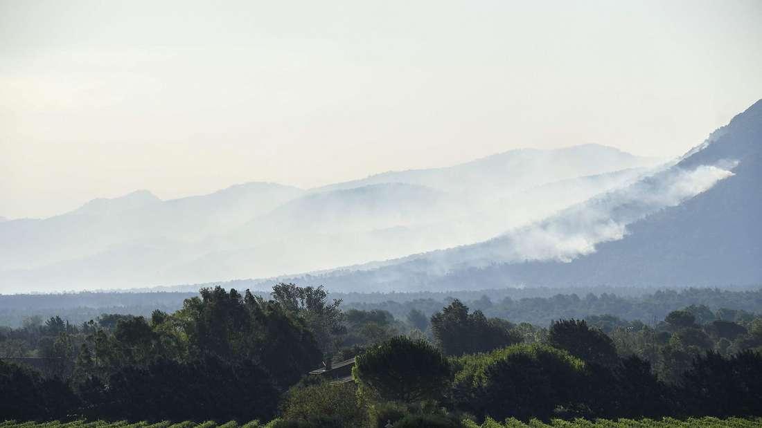 Waldbrände in Frankreich