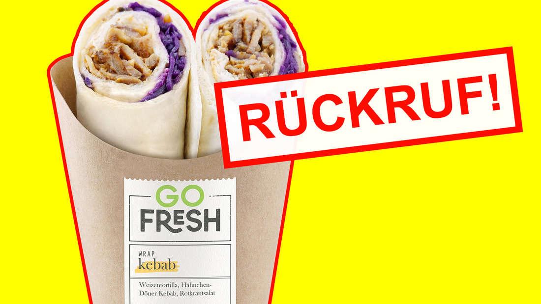 """Rückruf von Fertig-Snack """"Go Fresh Wrap Kebab"""" (Montage)"""