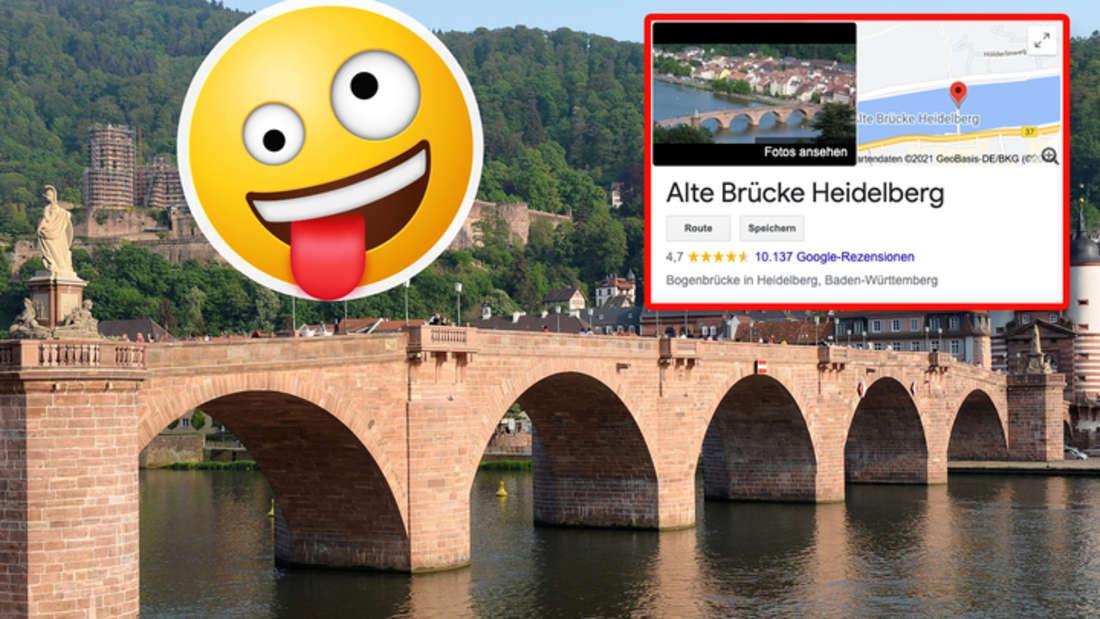 Die Alte Brücke in Heidelberg