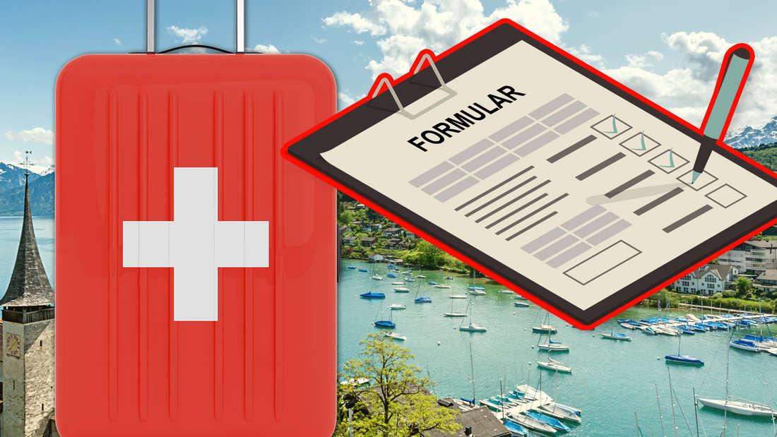 Schweiz: Einreiseformular, Test, Quarantäne – diese Regeln gelten.