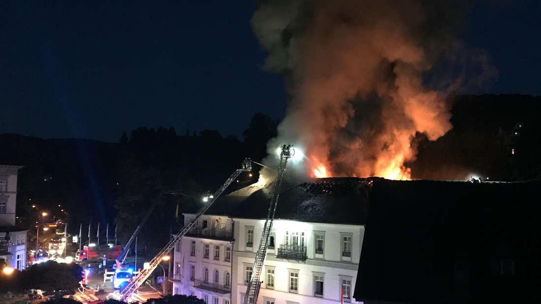 Großbrand in Luxushotel