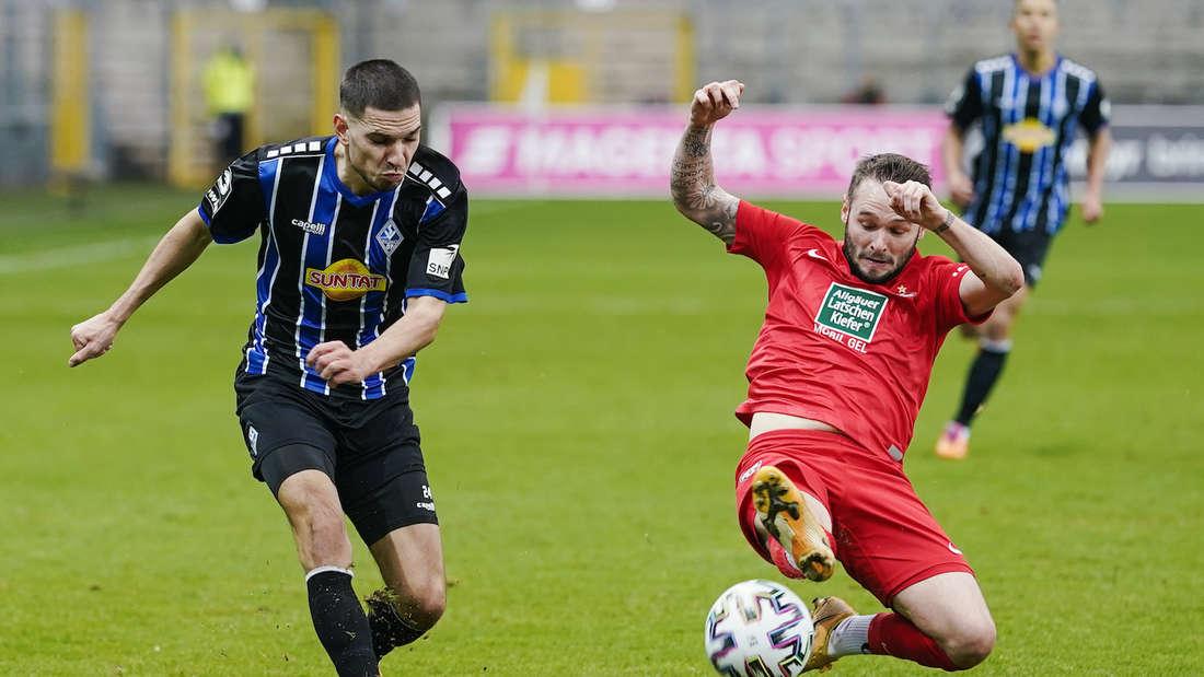 Das letzte Duell gegen den FCK hat der SV Waldhof mit 0:2 verloren.