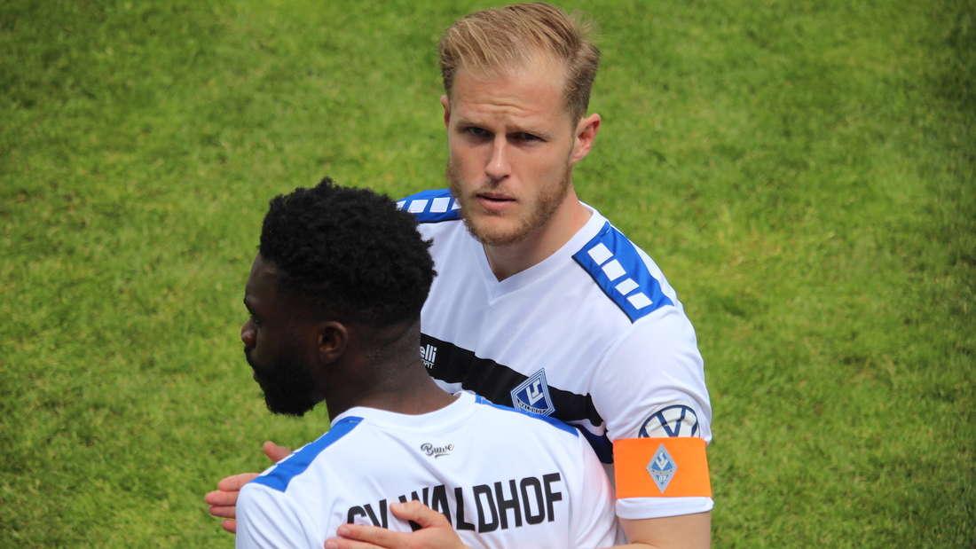 Marcel Seegert ist der Kapitän des SV Waldhof Mannheim.