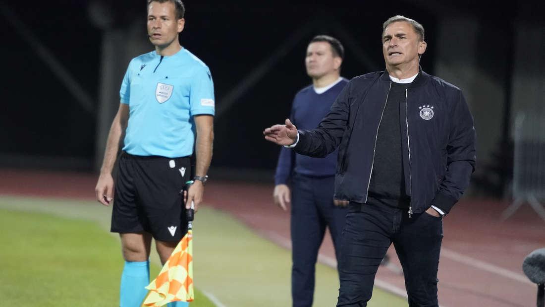 Stefan Kuntz ist seit 2016 Trainer der U21-Nationalmannschaft.