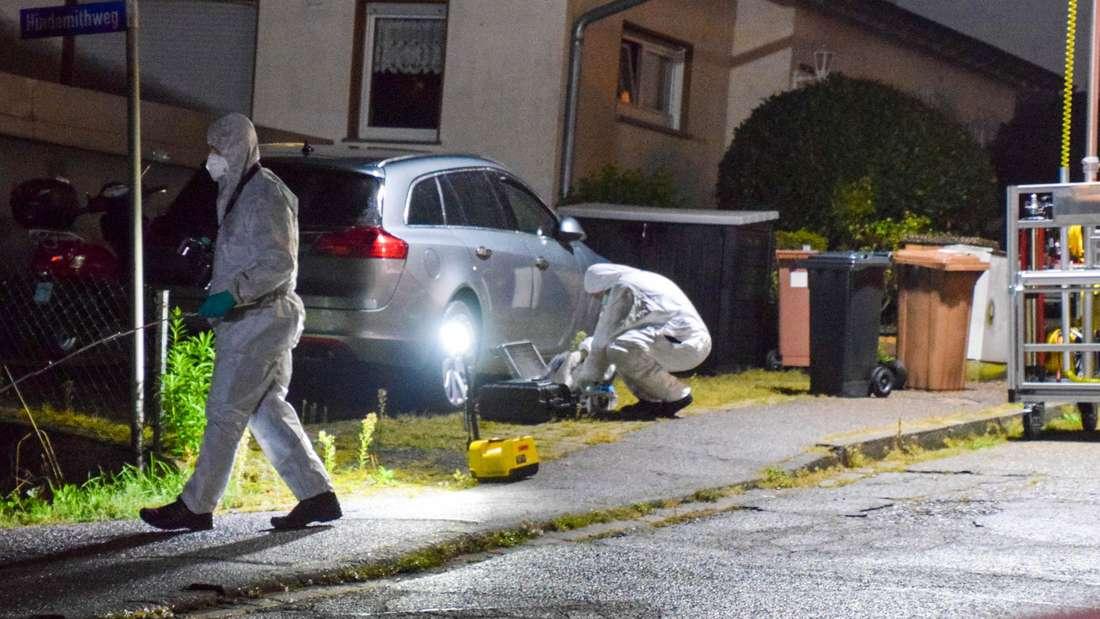 Nach Messerattacke in Bammental: Ermittler sichern Spuren am Tatort