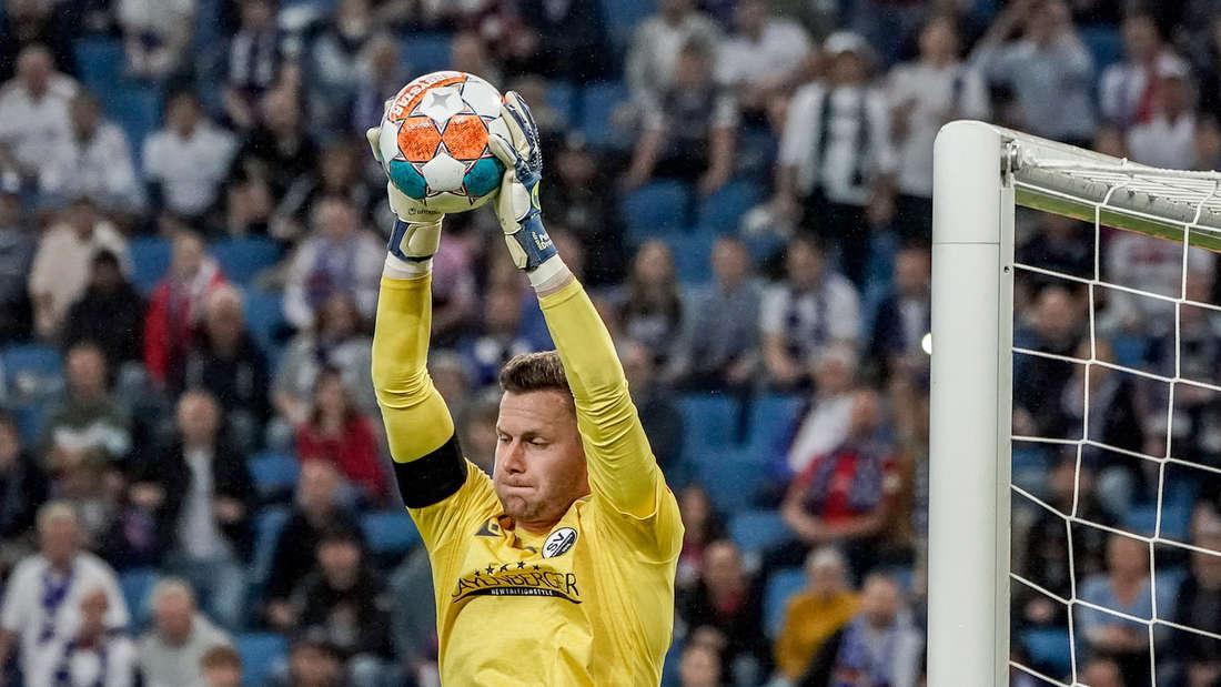 Sandhausen-Torwart Patrick Drewes hat sich beim Spiel gegen den HSV verletzt.