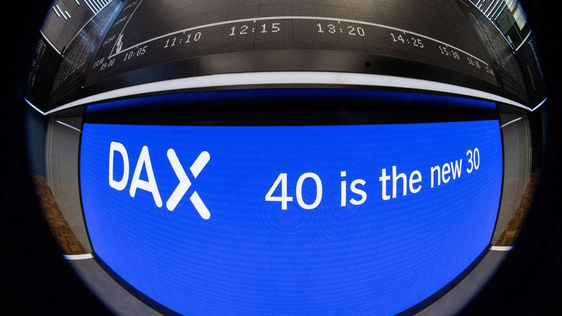 Dax 40 startet an der Börse