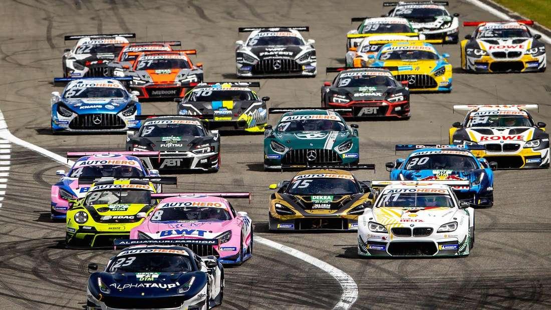 Die DTM ist zu Gast auf dem Hockenheimring.