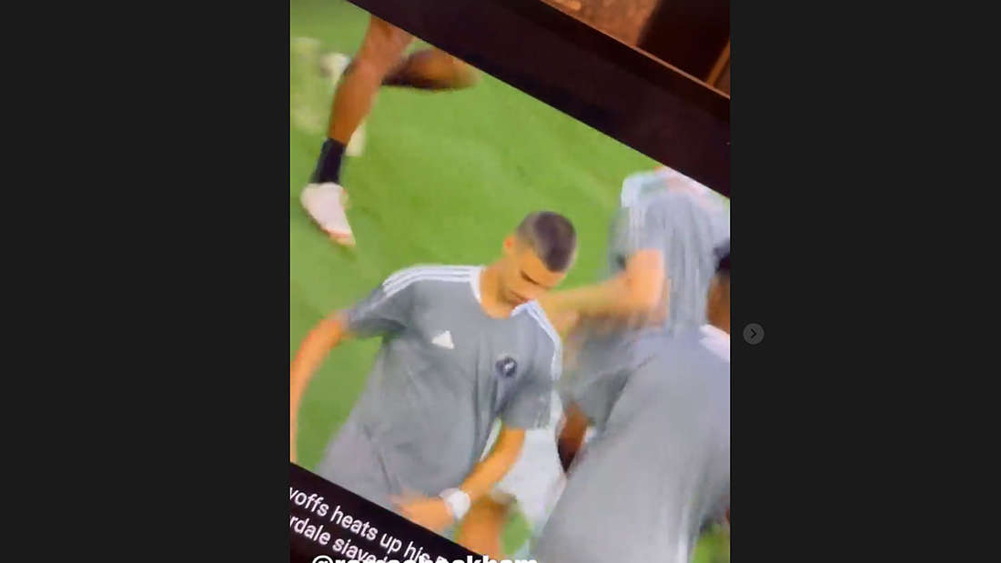 Romeo Beckham feierte sein Debüt im Profi-Fußball. David Beckham gratuliert per Instagram.