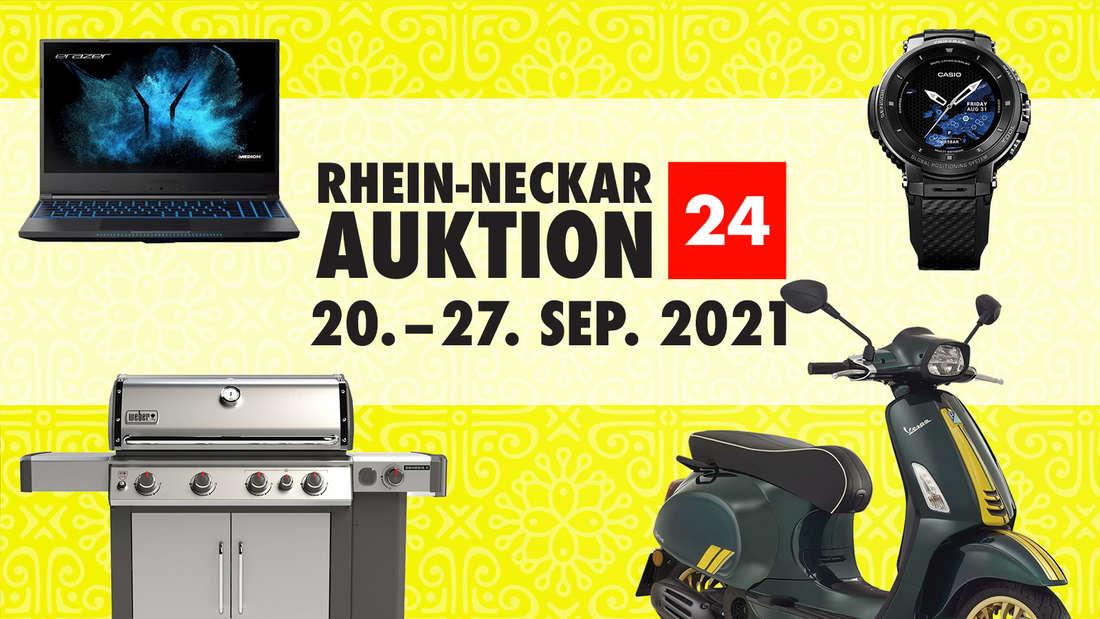 Bei der RHEIN-NECKAR AUKTION 24 gibt's wieder tolle Produkte bis zu 50 Prozent günstiger.