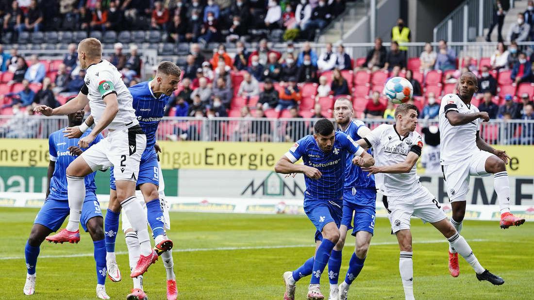 Der SV Sandhausen unterliegt Darmstadt 98.