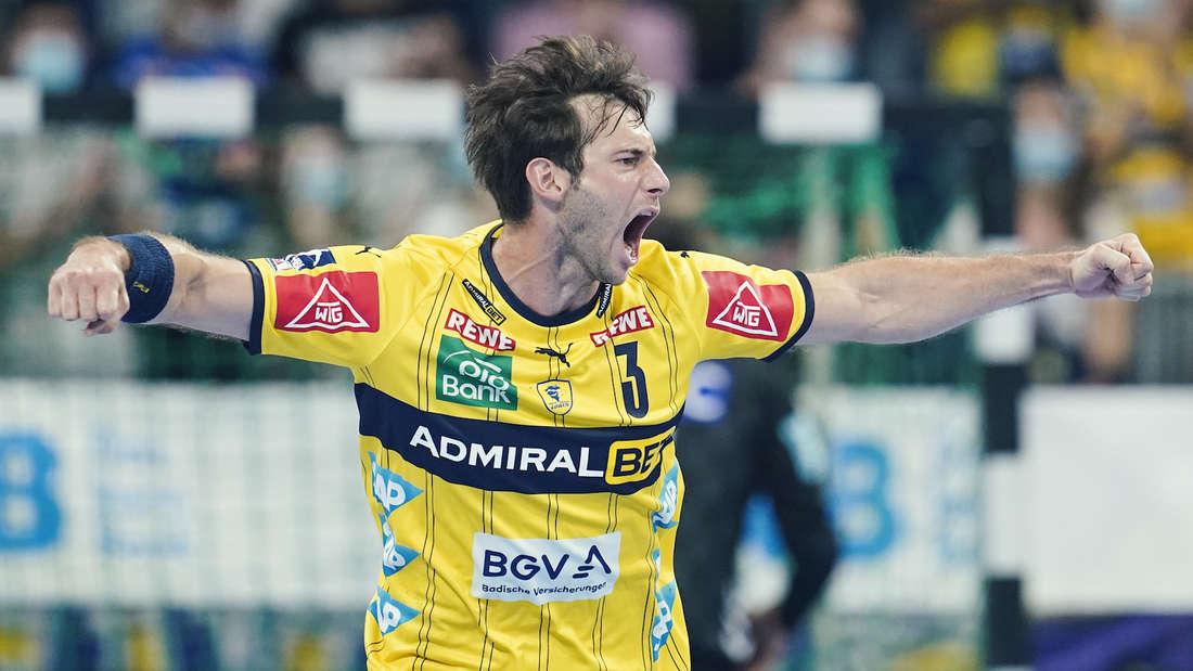 Uwe Gensheimer steht mit den Löwen im Pokal-Achtelfinale.