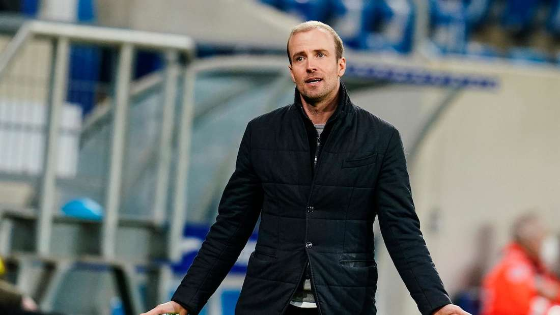 Sebastian Hoeneß ist seit Sommer 2020 Trainer der TSG Hoffenheim.