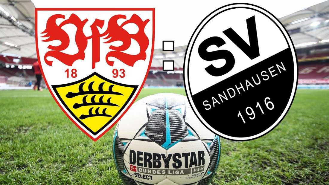 Der VfB Stuttgart testet am Samstag gegen den SV Sandhausen. (Fotomontage)