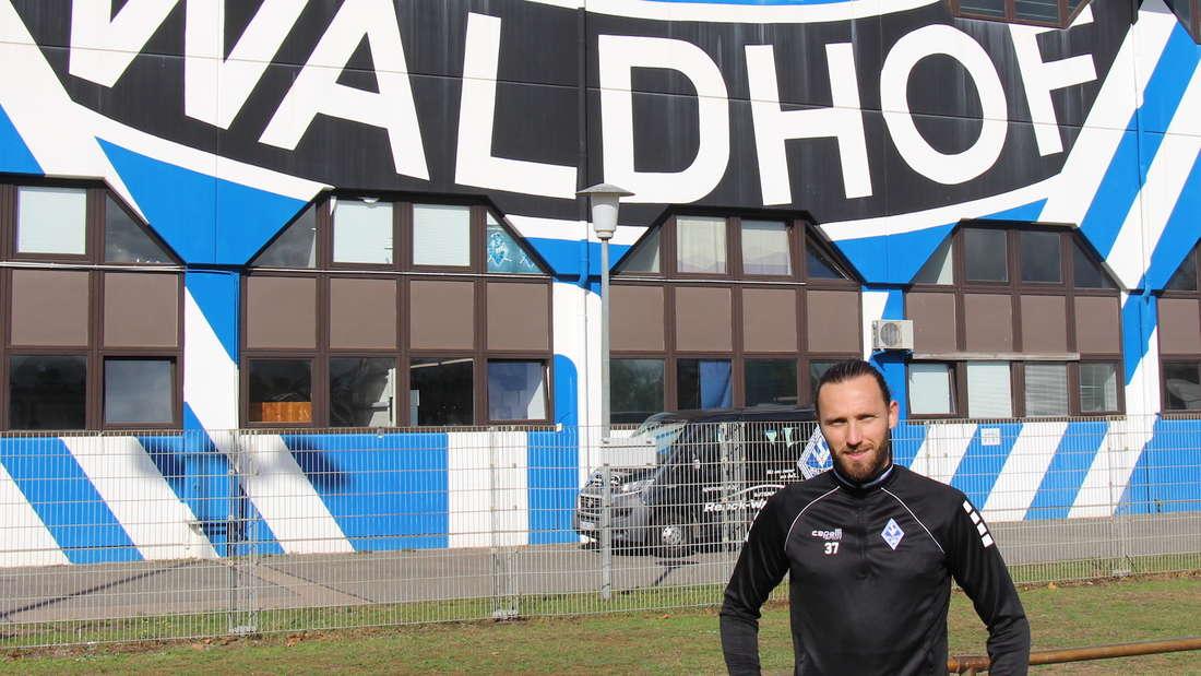 Marco Höger fühlt sich beim SV Waldhof Mannheim wohl.