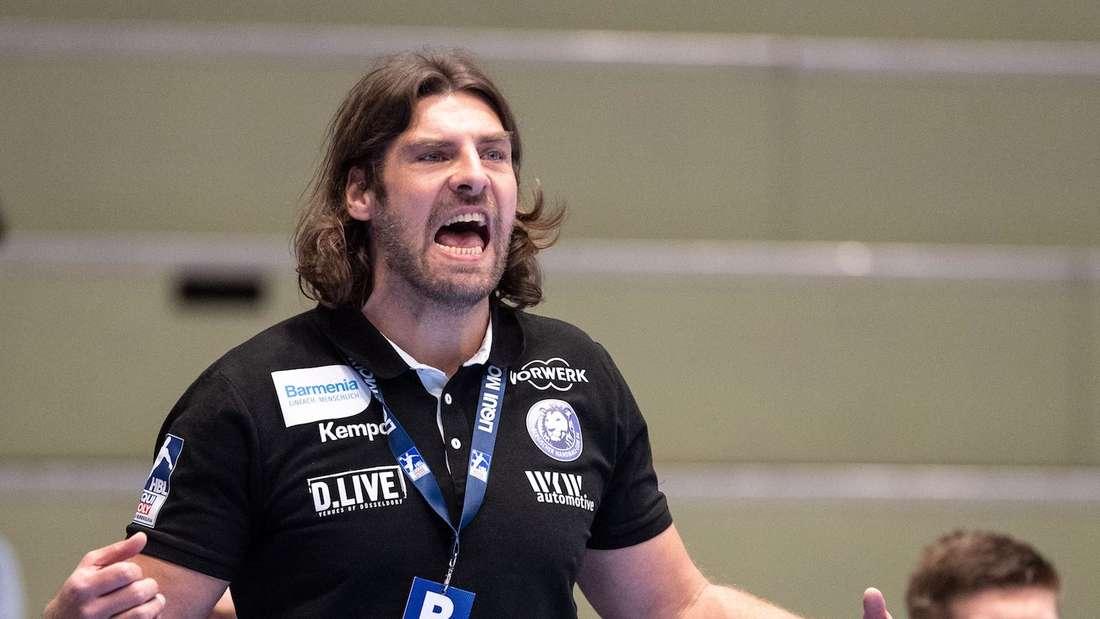 Sebastian Hinze trifft auf seinen künftigen Klub Rhein-Neckar Löwen