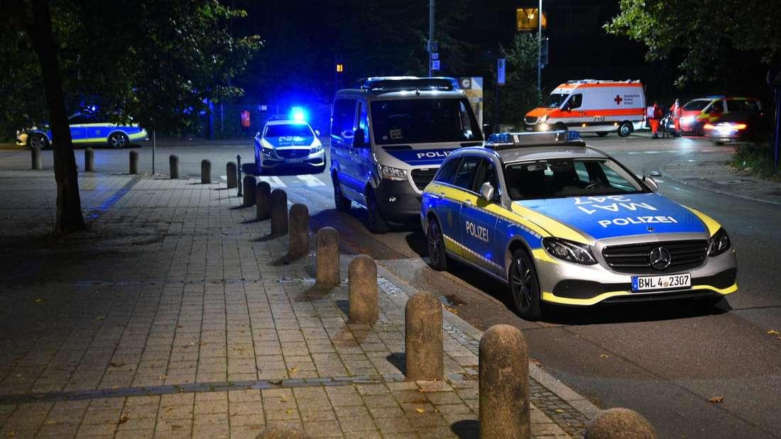 Heidelberg: Am Samstagabend gab es auf dem Emmertsgrund eine Auseinandersetzung (9. Oktober 2021).