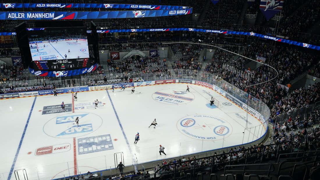 Die Adler Mannheim tragen ihre Heimspiele in der SAP Arena aus.