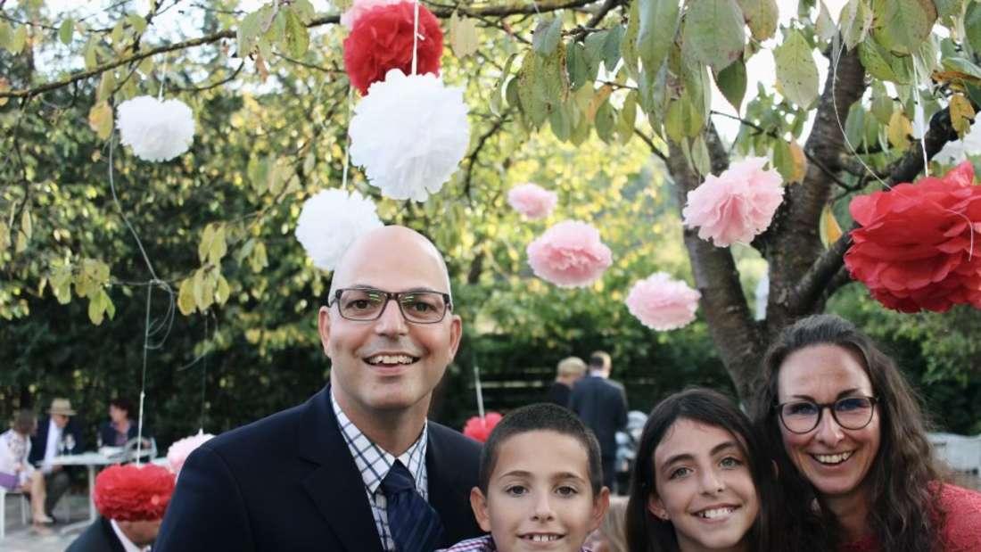 Eric und seine Familie