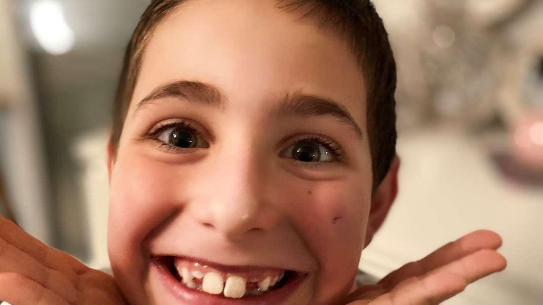 Der zehnjährige Eric hat Blutkrebs und ist auf Hilfe angewiesen.