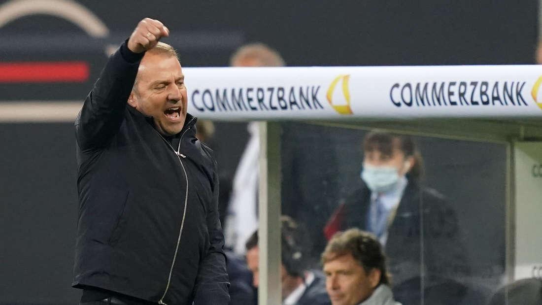 Bundestrainer Hansi Flick stellt den Rekord von Joachim Löw ein.