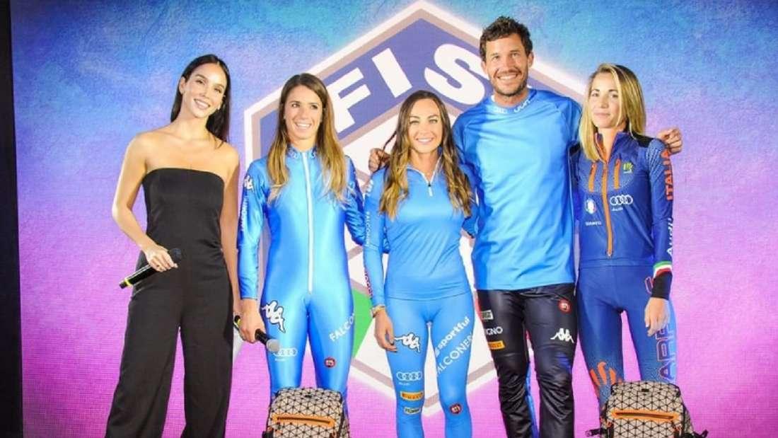 Der italienische Skiverband präsentiert die neuen Outfits.